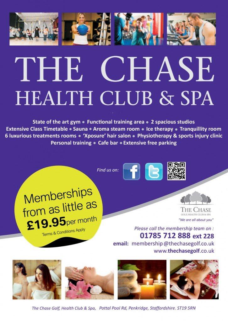 Membership2016 - The Chase Golf, Health Club & Spa