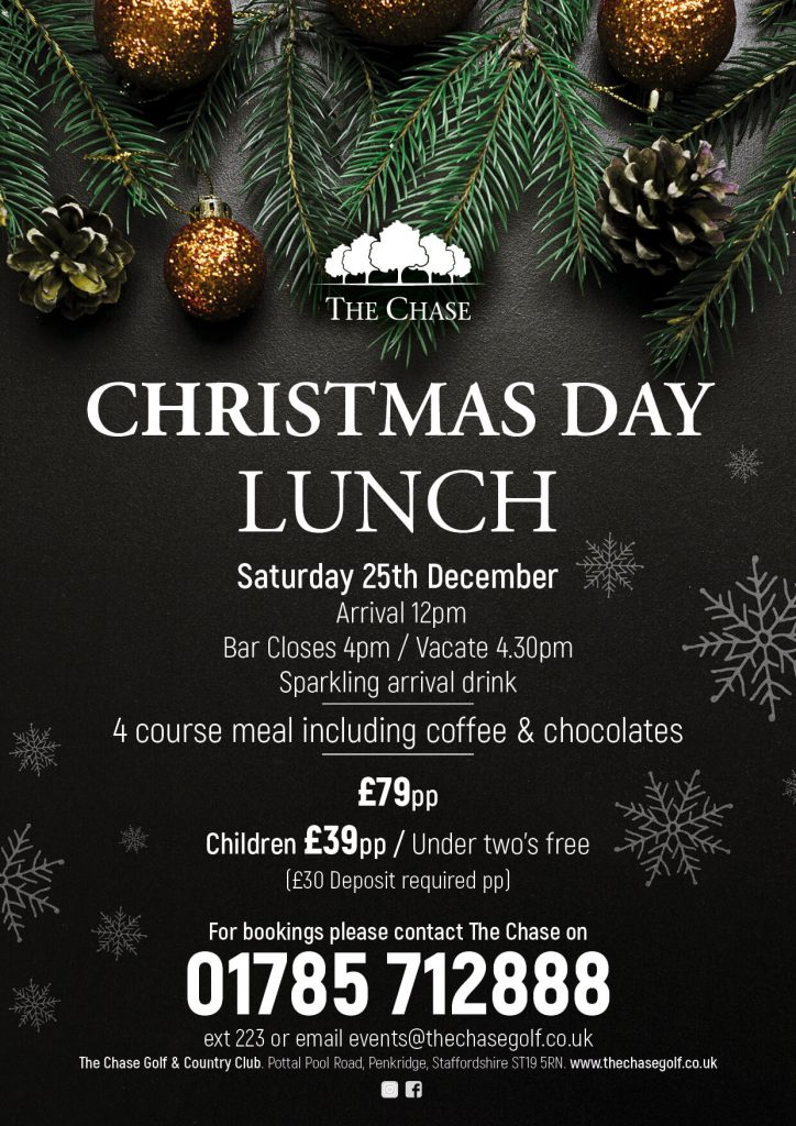 Christmas Day Lunch 2021