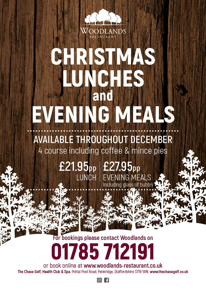 Christmas Lunches Evening Meals